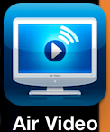 Air Video iPhone App Symbol