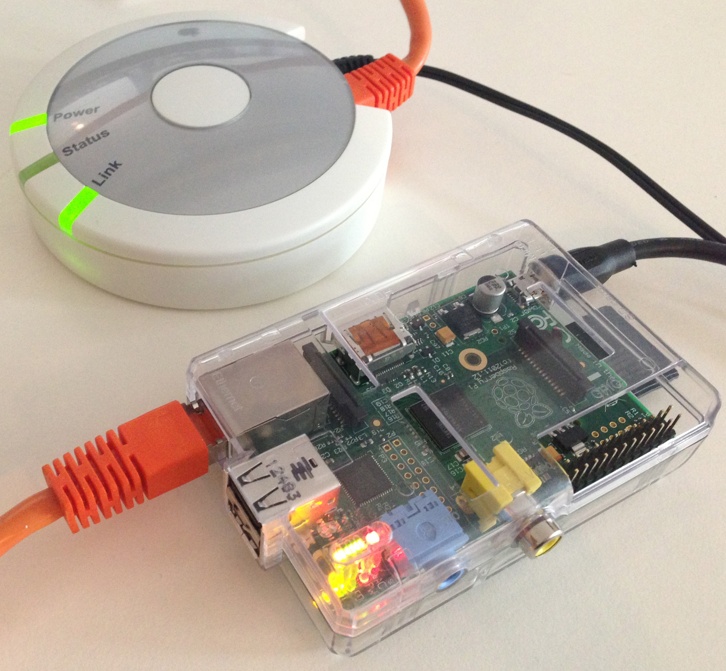 raspberry pi als fhem server und hmlan adapter