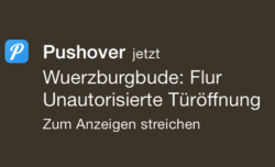 iPhone Pushover Notifcation von FHEM title
