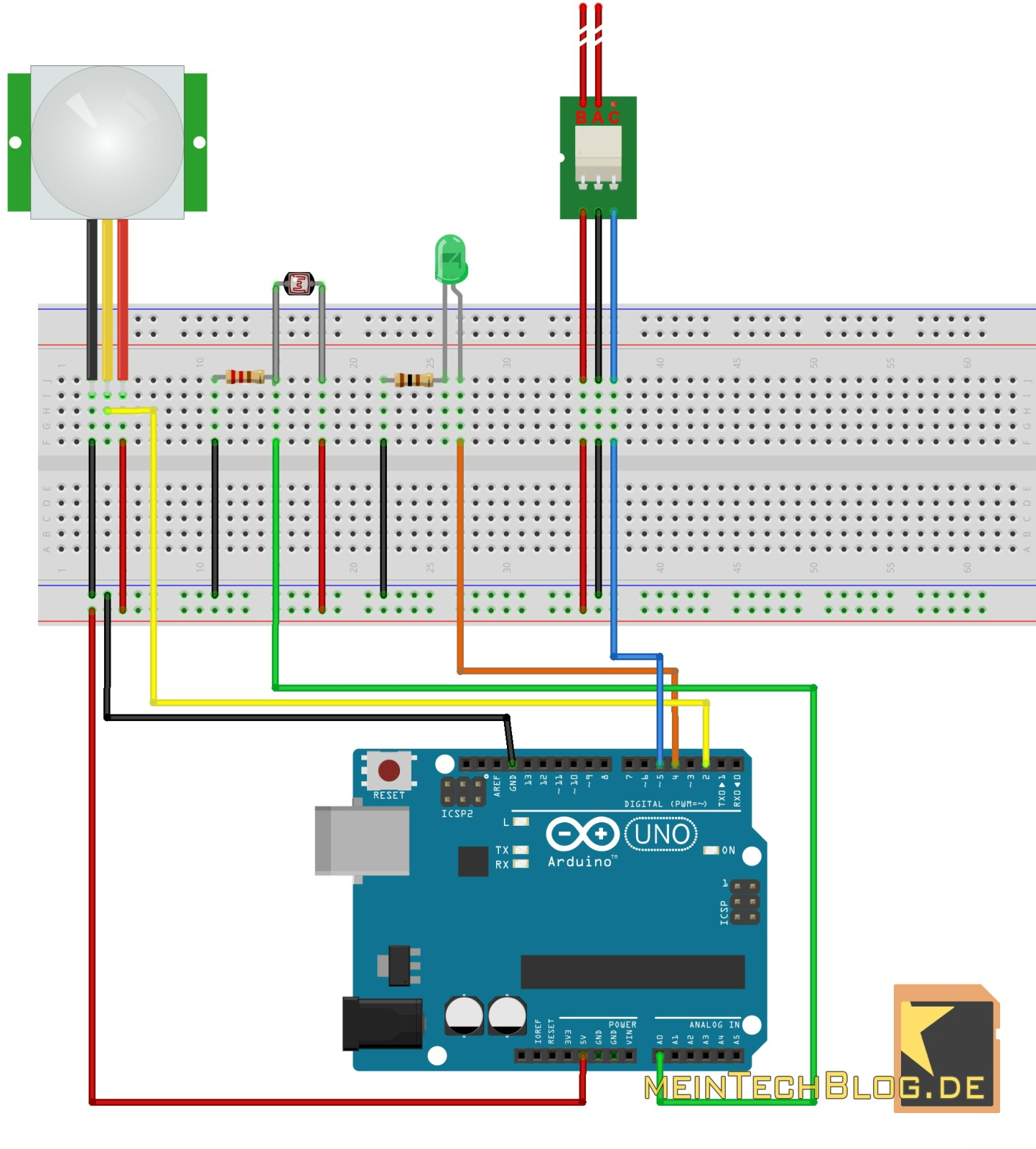 Arduino im smart home howto teil v led spot per