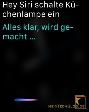 Hey Siri Smart Home Steuerung per Apple Watch