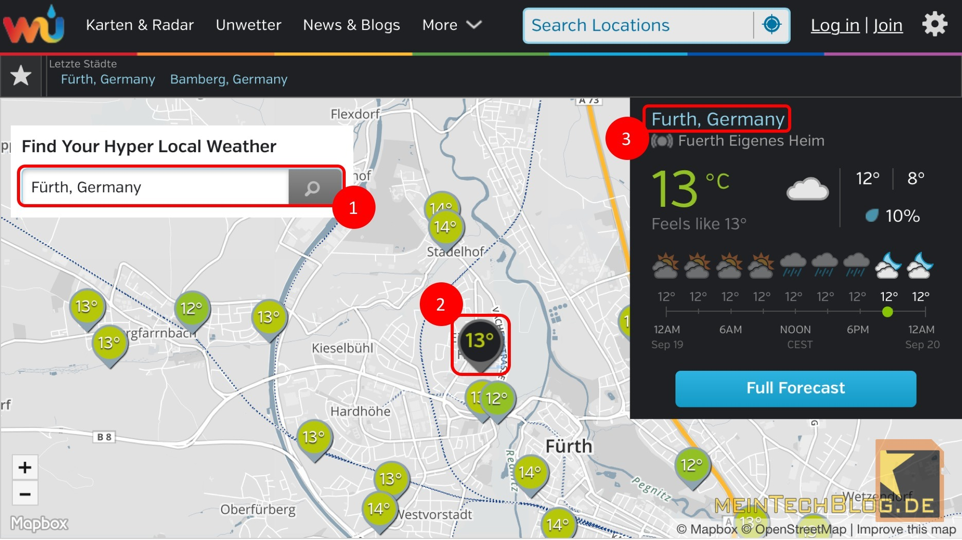 Informationen Von High End Wetterstationen Kostenlos In Das Smart